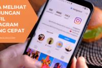 Cara melihat kunjungan profil instagram paling cepat